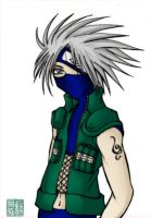 i Luff Kakashi colored by childofsadness
