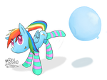 Playful Balloon Boppin by PonBalloon