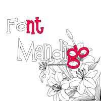 Font  Mandigo by MyFavoriteEditions