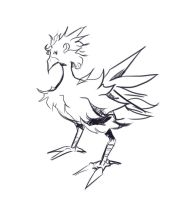 Chocobo by freedomthai