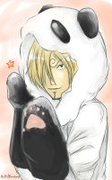 Sanji is a panda! by multieleonora96