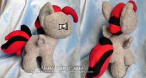 MLP Filly  Plush Commission by Sparkle-And-Sunshine