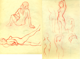 figure drawings 1 by shelzie