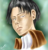 Levi Ackerman by Reenave