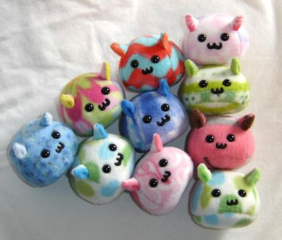 Another Puddle of Puff Puggles by callykarishokka