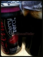 Photo - Cherry Coke Zero by LuminousAtelier