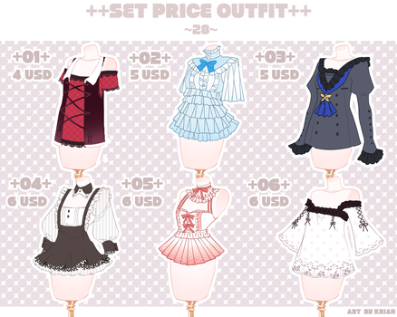 (SET PRICE OPEN-2/6)OUTFIT 28 by krianart