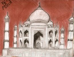 taj mahal by gaara-lover-9