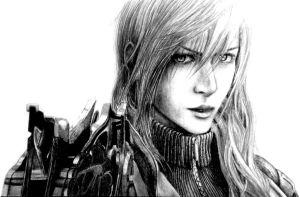 Final Fantasy XIII - Lightning by Dark4Light