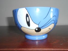 Classic Sonic Winking Face Bowl (Picture 1) by BoomSonic514