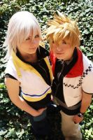 Riku and Roxas - Cosplay by KashinoRei