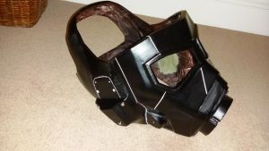 Ranger Helmet FNV Nearly there by atrum-lupus