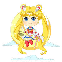 Super Sailor Moon Chiblette by Melisu