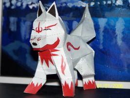 ?Fox Wolf? Papercraft by Draco3013