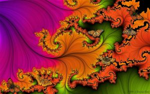 TROPICAL FRACTAL DANCE by 1arcticfox
