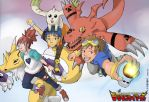 Digimon Tamers Fan-art by kev851