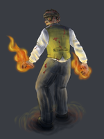 Commission: Houdini Toasty by Elliekin