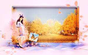 Pink Fall by Jungyedolly