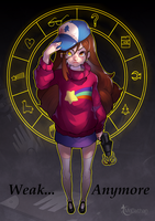 Mabel Pines - Weak Anymore by modathan