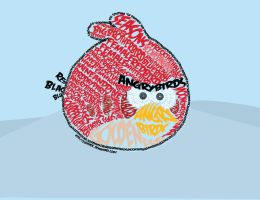 Angry Birds - Red Bird by Cleniver