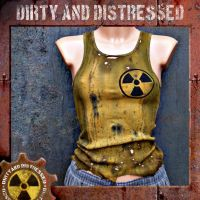 Radioactive Wastland Tank Top by DirtyandDistressed