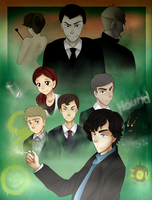SHERLOCK by ninetail-fox