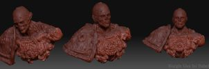 3d nurgle guy ver 1.1 by PabelBilly