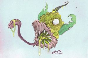 Scary Weepinbell