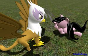 Gilda is such a mean meanie pants by CobaltBrony