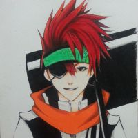 Lavi D Gray Man by thumbelin0811
