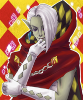 Demon Lord Ghirahim by VenomousJello