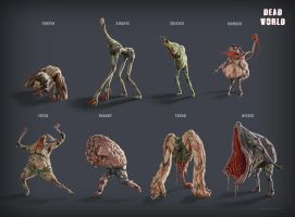 Dead World - All Zombies by mikaelquites