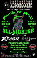 Rock n roll all-nighter by Zombean1138