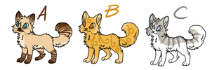9 Point Cat Adopts--CLOSED by internetnerd15