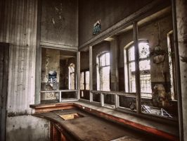 abandoned railway station by Weissglut