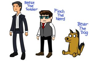 Person Of Interest (Adventure Time style) by huatist