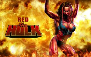 Red She-Hulk! by Superman8193