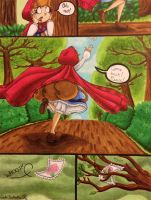 Kleine Rot and the Wolf Page 5 by GabiSaKuRa