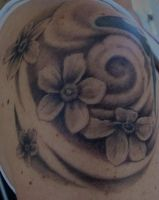 blossoms by tattoos-by-zip