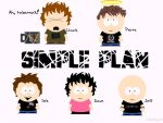 Simple Plan - South Park style by alog-06