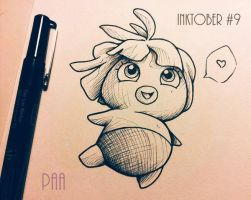 Inktober 2016 - 09 by Paa-H