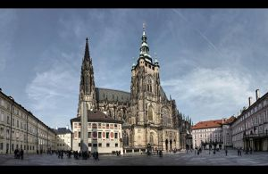 ...St. Vitus Cathedral 2...Prague by erhansasmaz