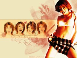 Alyson Hannigan Wallpaper by Wintu