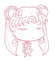 SailorMoon Cranky Chibi by CrimsonWalker