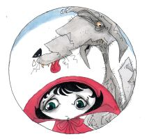 little red riding hood by L-F-S