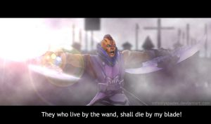 DOTA 2 Anti-Mage - The Great Magical Purge by InfinitySpades