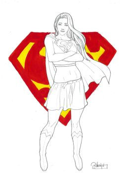SUPERGIRL AGAIN! by mundo-desenhista