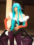 Morrigan Darkstalkers by MauChaconB by DraconPhotography