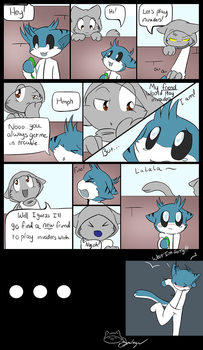 The Amazing Adventures of Two Kittehs by Void-Shark