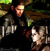 Chris and Jill by MistressNasty